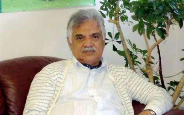 گورنرخیبرپختونخوااقبال ظفرجھگڑا سے وزیراعظم کے مشیرامیرمقام کی ملاقات