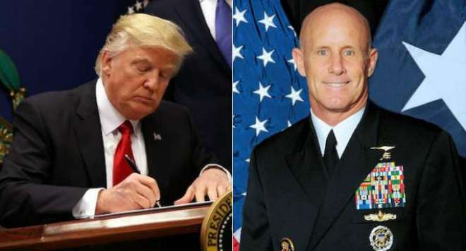 امریکا: قومی سلامتی کے مشیر کے لیے نامزد ایڈمرل رابرٹ ہارورڈ نے عہدہ ..