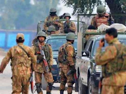 راولپنڈی : سکیورٹی ہائی الرٹ ، اہم عمارتوں پر پاک فوج کے دستے تعینات