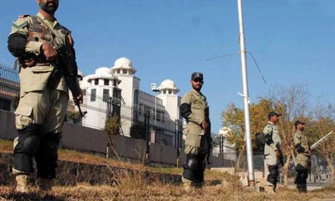 راولپنڈی میں سیکیورٹی ہائی الرٹ ، حساس عمارتوں کا کنٹرول پاک فوج نے ..