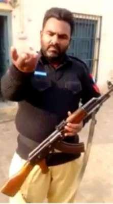 پنجاب پولیس کے اہلکار نے وزیر اعلٰی پنجاب کو مناظرے کا چیلنج کر دیا