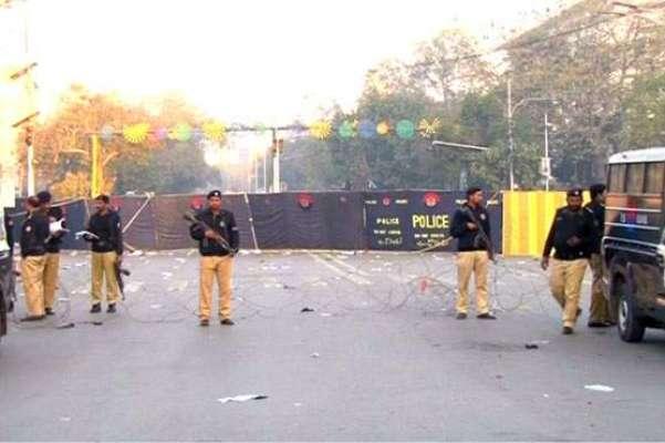 لاہور مال روڈ  پر دھماکے کے سہولت کار کو گرفتار کر لیا گیا