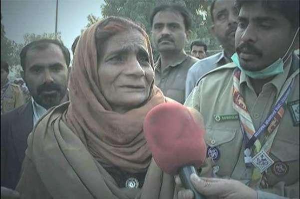 سیہون شریف دھماکے میں ضعیف العمر خاتون کا پورا گھر اُجڑ گیا