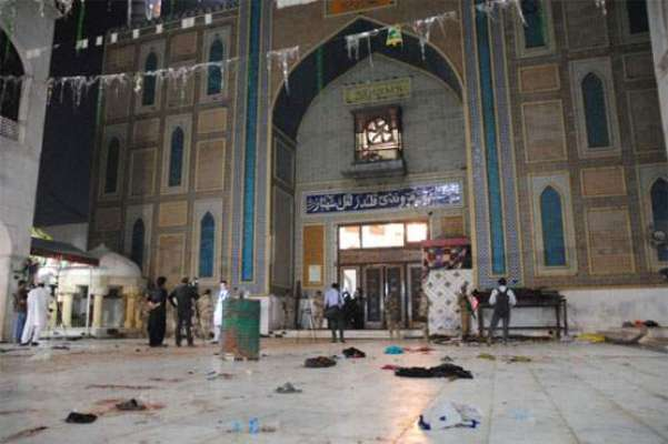 تحقیقات میں خود کش بمبار مرد تھا:سیہون شریف خود کش حملے کی ابتدائی رپورٹ ..