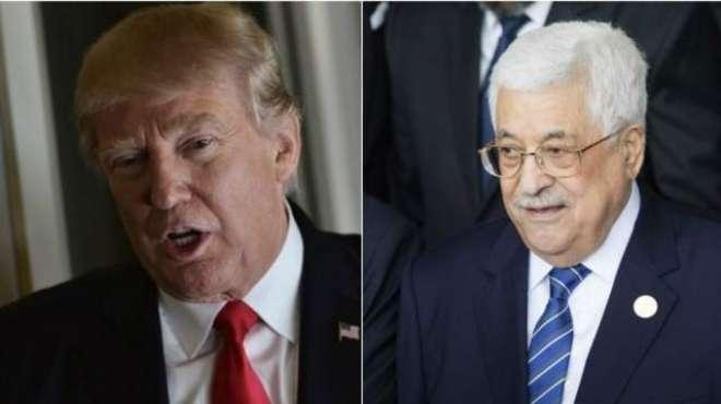 صدر ٹرمپ نے فلسطینی صدر محمود عباس کو وائٹ ہاؤس آنے کی دعوت دیدی