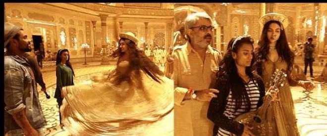 """نامعلوم افراد نے فلم """" پدماواتی """" کے سیٹ کو آگ لگا دی"""