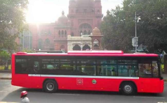 وزیراعلیٰ پنجاب شہبازشریف نےجدیداے سی فیڈربس سروس لاہورکاافتتاح کردیا