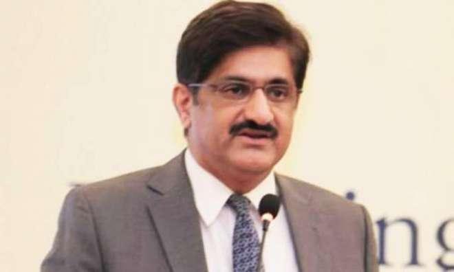 ریئر ایڈمرل فرخ احمد کی وزیراعلیٰ سندھ سے الوداعی ملاقات
