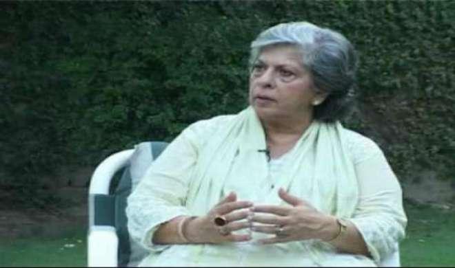 پاکستان پیپلزپارٹی کی رہنما سیدہ عابدہ حسین کا پاکستان تحریک انصاف ..