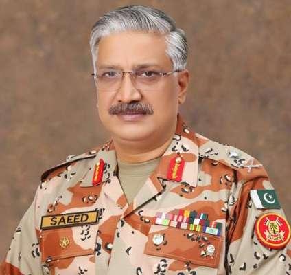 ڈی جی رینجرز میجر جنرل محمد سعید کی زیر صدارت اعلیٰ سطحی اجلاس