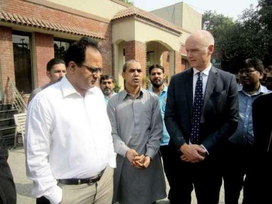 Norwegian Ambassador H.E Tore Nedrebo visit Lahore Press Club