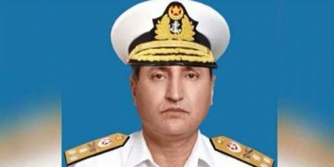 پاک بحریہ کے سربراہ ایڈمرل ظفر محمود عباسی کو چیف آف جنرل اسٹاف رائل ..