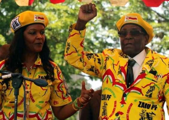 زمبابوے میں فوج نے صدر رابرٹ موگابے کا تختہ الٹ کر اقتدار سنبھال لیا'دارالحکومت ..