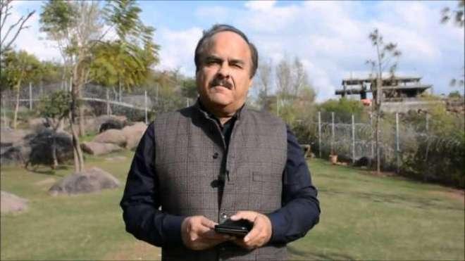 احسن اقبال کا بیان حلف اور آئین کی خلاف ورزی ہے، نعیم الحق