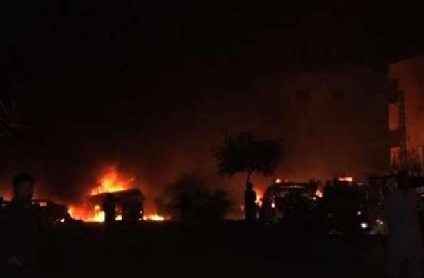 پاک فوج کے ٹرک پردہشتگری کے حملے کی ذمہ داری کالعدم تنظیم داعش نے قبول ..