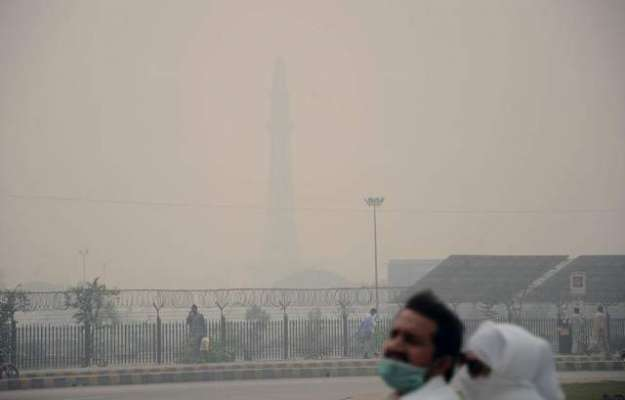 لاہور میں اسموگ کی صورتحال خوفناک شکل اختیار کر گئی