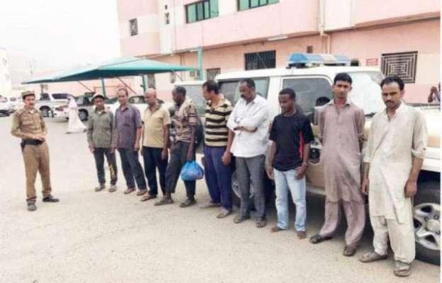 سعودی عرب میں غیر قانونی تارکین کے خلاف کریک ڈاؤن میں تیزی آ گئی