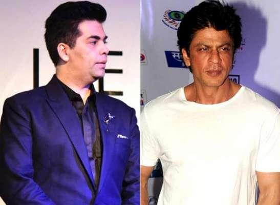 کرن جوہر کا شاہ رخ خان کے ساتھ دوبارہ کام کرنے کی خواہش کا اظہار
