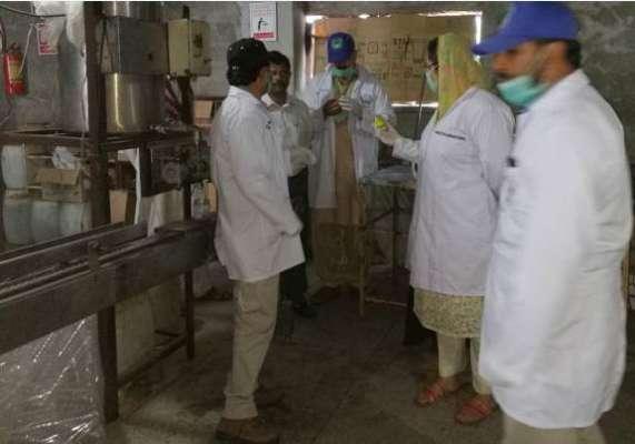 پنجاب فوڈاتھارٹی:شہد میں بڑےپیمانےپرملاوٹ بےنقاب،معروف ہربل فیکٹری ..