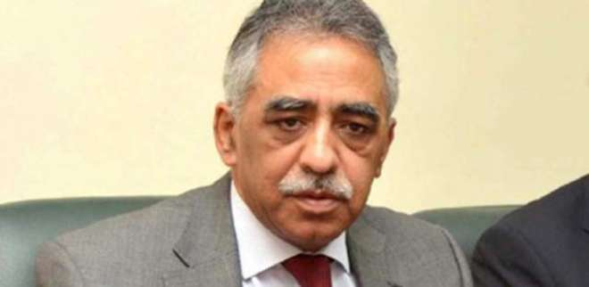 گورنر سندھ محمد زبیرسے ا یئر وائس مارشل سلمان احسن بخاری کی ملاقات