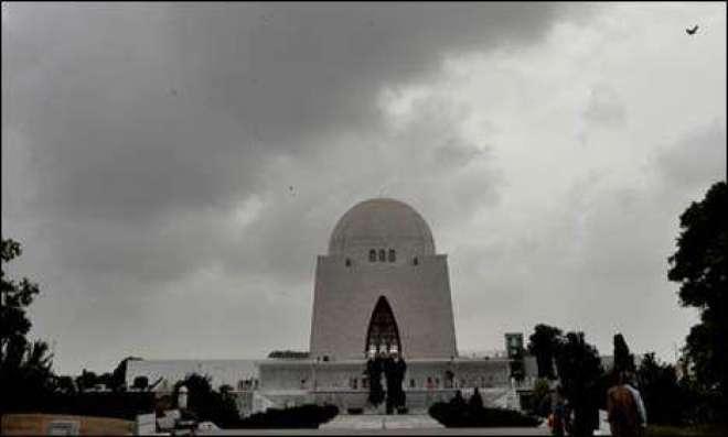کراچی کے مختلف علاقوں میں گرج چمک کے ساتھ تیز بارش اور ژالہ باری