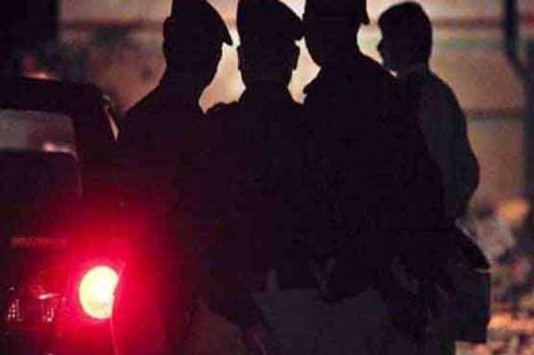 پولیس اورحساس اداروں کا مظفر گڑ ھ میں سرچ آپریشن،