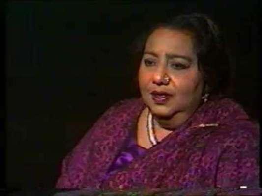 معروف گلوکارہ روشن آرا بیگم کی 36ویں برسی کا انعقاد
