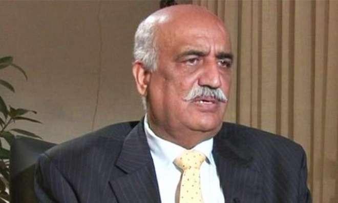سید خورشید شاہ نے اسماعیل شاہ کو پی ٹی اے کا چیئرمین تعیناتی کی سفارش ..