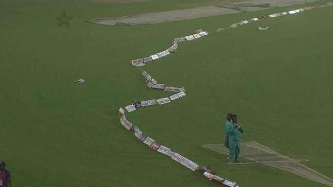 آزادی کپ کا دوسرا ٹی ٹوئنٹی میچ، لاہور میں تیز ہوائیں چلنا شروع، بارش ..
