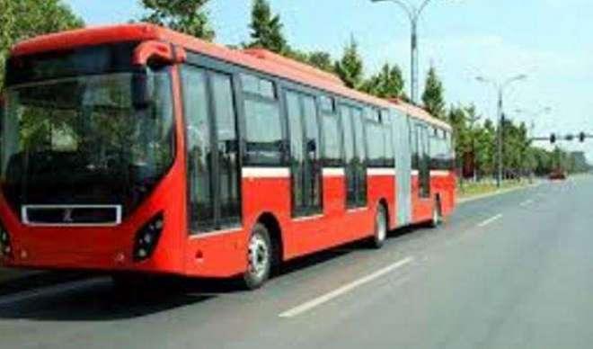 لاہور میں پر تشدد احتجاج کے بعد میٹرو بس سروس عارضی طور پر بند کر دی ..