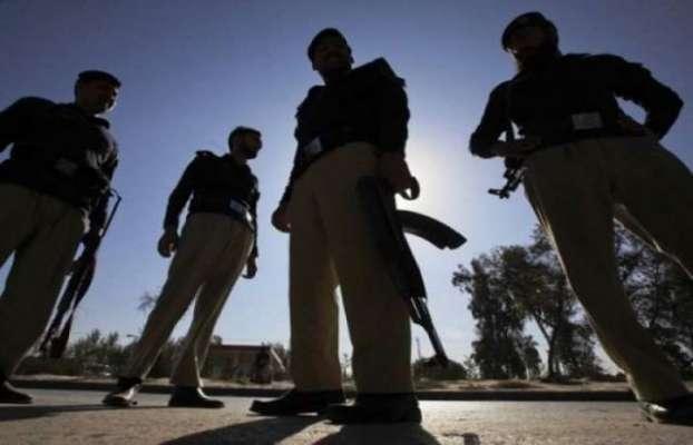 کراچی،ملیرماروی گوٹھ میں دہشت گردوںکاپولیس پردستی بموںسے حملہ وفائرنگ ..