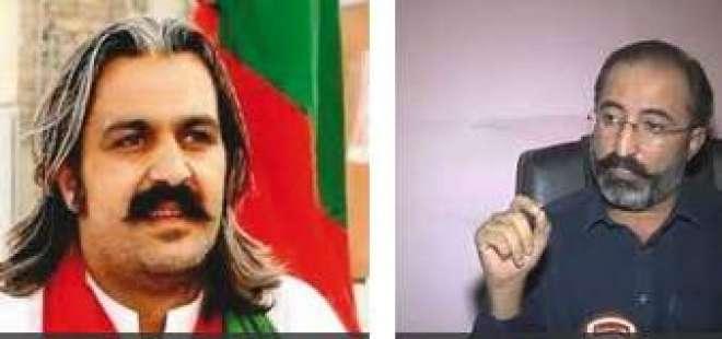 علی امین گنڈا پورپرغلط الزامات،عمران خان کا داوڑ کنڈی کوپارٹی سے نکالنے ..
