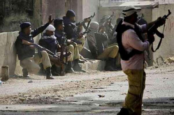 لیاری گینگ وار اور کالعدم تحریک طالبان نے بدامنی پھیلانے کیلئے خفیہ ..