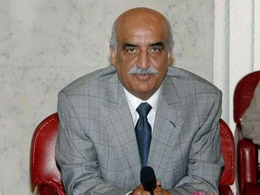 الیکشن کمیشن ،ْاپوزیشن لیڈر خورشید شاہ کے خلاف زمین پر قبضے سے متعلق ..