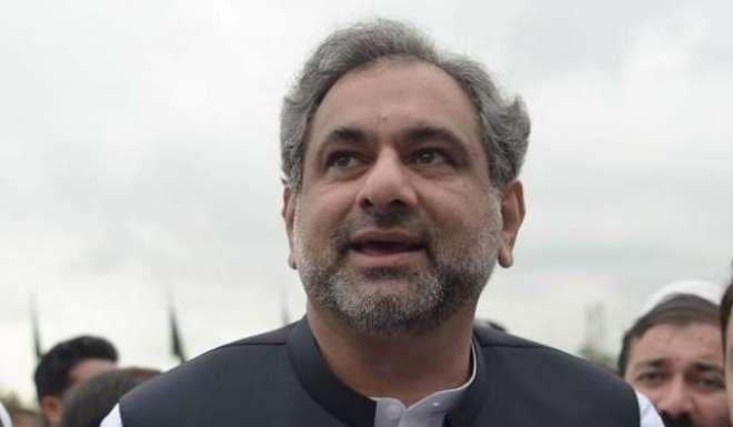 وزیر اعظم شاہد خاقان عباسی سے گنی کے صدر الفا کونڈی کی ملاقات