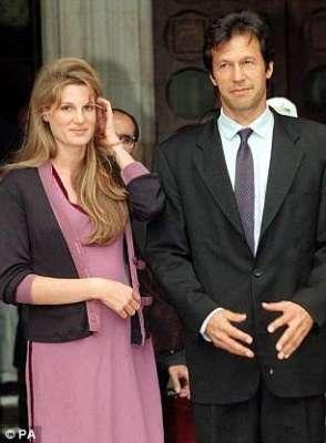 پی ٹی آئی چئیرمین عمران خان سے دوبارہ شادی; جمائما گولڈ اسمتھ کا رد ..