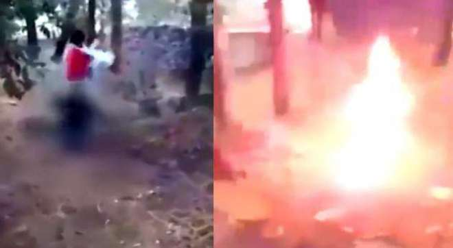 بھارتی ریاست راجھستان میں ہندو انتہا پسند نے مسلمان شخص کو زندہ جلا ..