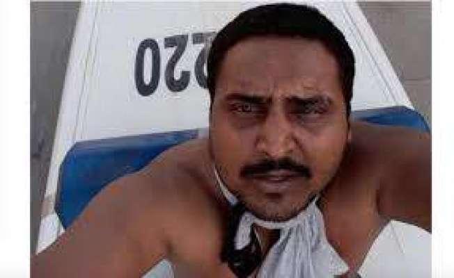 سعودی عرب میں پاگل بھارتی ڈرائیور کی پولیس والے سے پستول چھین کر خودکشی ..