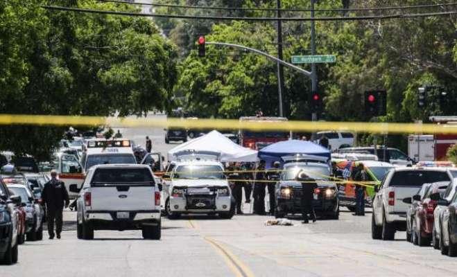 امریکی ریاست کیلی فورنیا میں مختلف مقامات پر فائرنگ5افراد ہلاک