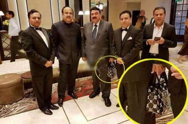 شیخ رشید کے ہاتھ میں لیڈیز بیگ کے چرچے، شیخ رشید نے حقیقت بیان کر دی