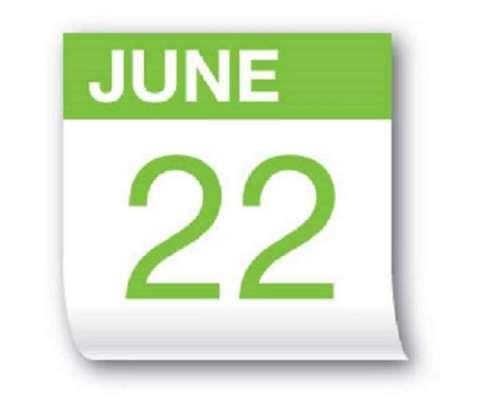 22جون کو سال کا طویل ترین دن اور مختصر ترین رات ہو گی
