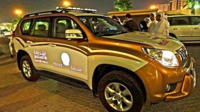 عجمان پٹرول سٹیشن پر پولیس آفیسر پر حملہ کرنے پر2 خلیجی شہری گرفتار