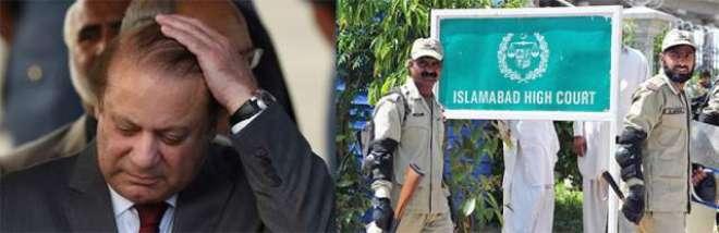 اسلام آباد ہائی کورٹ نے نواز شریف کی احتساب عدالت میں کارروائی پر حکم ..