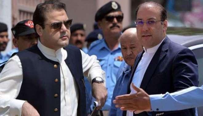 سابق وزیراعظم نواز شریف کے صاحبزادوں حسن اور حسین نواز کو گرفتار کیے ..