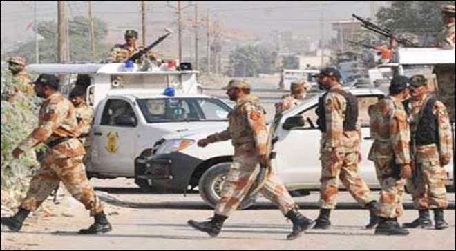 رینجرز کی مختلف علاقوں میں کارروائیاں، 8 ملزمان گرفتار، اسلحہ و منشیات ..