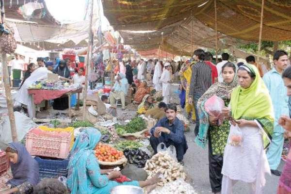 رمضان بازاروں میں خواتین کیلئے علیحدہ سٹالز کی جگہ مختص کرنے کاخیرمقدم