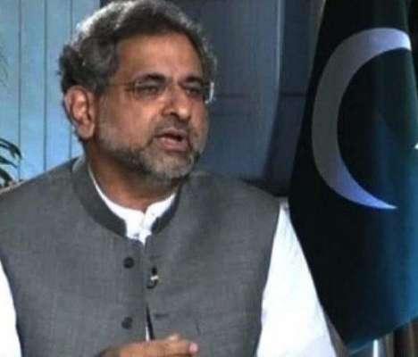 وزیر اعظم شاہد خاقان عباسی جلد چارسدہ کا دورہ کرینگے
