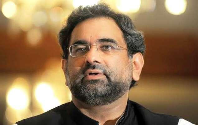 وزیراعظم شاہد خاقان عباسی سے مسلم لیگ (ن) سندھ کے وفد کی گورنر ہاؤس میں ..