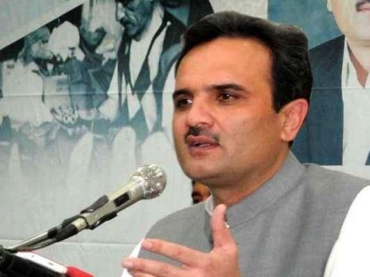 امیر حیدر خان ہوتی 25مئی کو پشاور میں شمولیتی جلسہ عام سے خطاب کریں گے