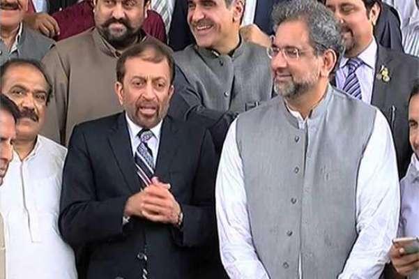 وزیراعظم شاہد خاقان عباسی سے ایم کیو ایم پاکستان کے وفد کی ملاقات